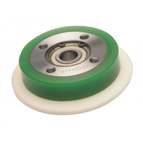 BALL WHEEL GUIDE ROLLER, ASSEMBLY