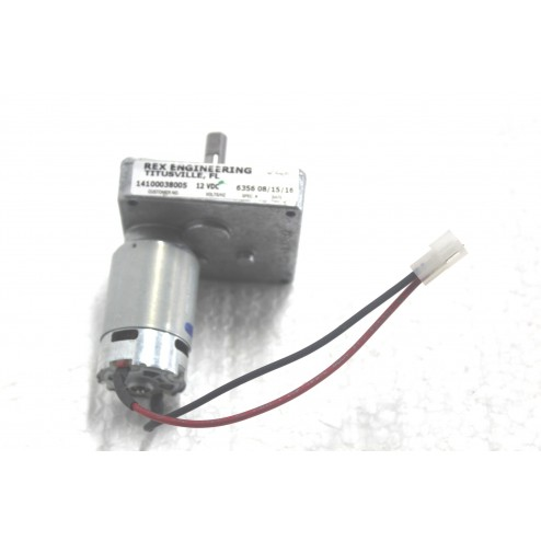 GEAR MOTOR WITH CONNECTOR  24V DC