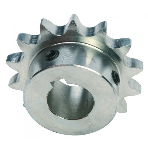 CHAIN GEAR WITH SET SCREWS