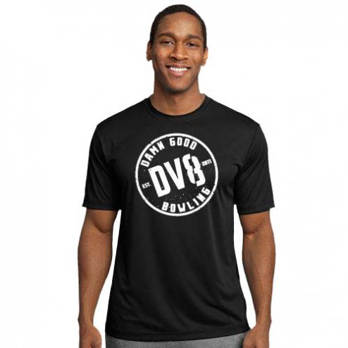 DV8 Shirt Wicking Black / PROMO