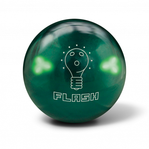 HOUSEBALL FLASH LED EMERALD GREEN PEARL - 14 LBS