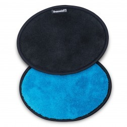 MICROFIBER SHAMMY PAD - BLACK/BLUE