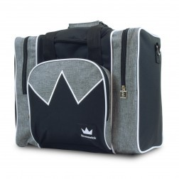 EDGE SINGLE BAG GREY/WHITE