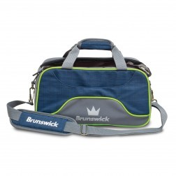 TOURNAMENT DELUXE DOUBLE TOTE NAVY/LIME