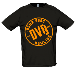 T-SHIRT DV8 BLACK - SMALL / PROMO