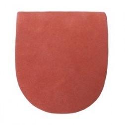 HEEL 1 RED STAR - LEATHER HEEL