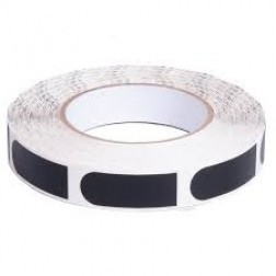 "INSERT TAPE 3/4"" - BLACK (250/ROLL)"