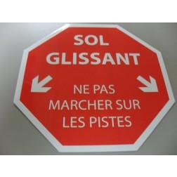 STICKER / AUTOCOLLANT 'SOL GLISSANT'