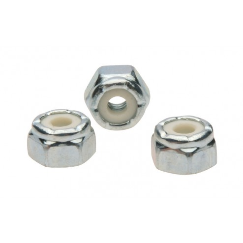 HEX NUT NYLOCK (8-32)