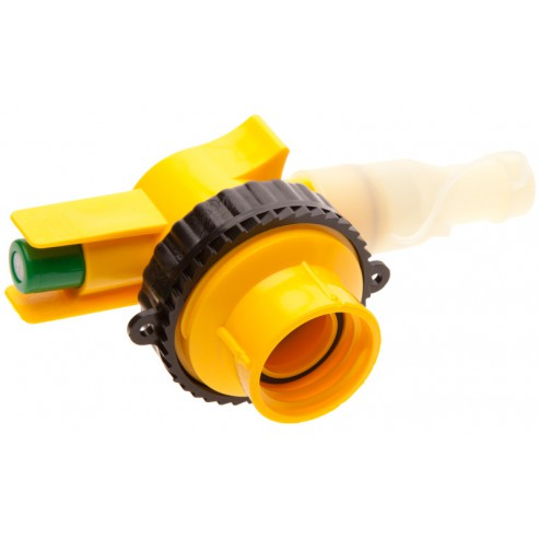 SPOUT-NOZZLE/FUNNEL W/38MM REDR COLR