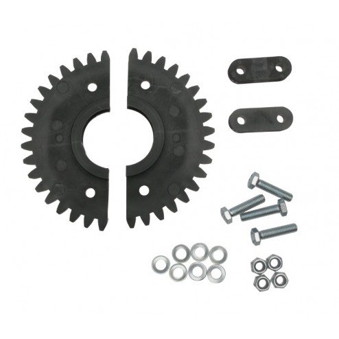 TWO PIECE SPUR GEAR