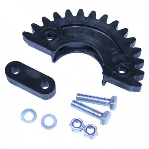 TWO PIECE FRONT DISTRIBUTOR GEAR