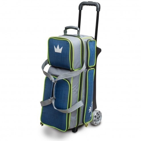 TOURNAMENT DELUXE TRIPLE ROLLER NAVY/LIME