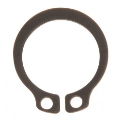 RETAINING RING- 15MM BLACK HEAVY
