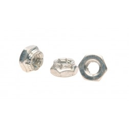 HEX NUT FLEXLOC 1/4-20