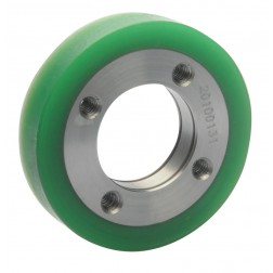 HUB & TIRE UPPER B/W GUIDE ROLLER