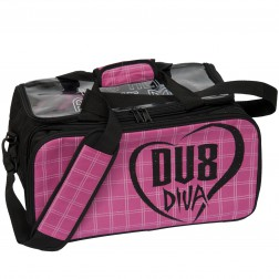 DV8 DIVA DOUBLE TOTE PINK