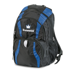 CROWN BACKPACK BLACK/ROYAL