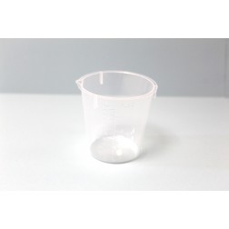 PLASTIC MIXING CUP