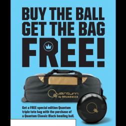 QUANTUM CLASSIC BLACK / PROMO + FREE TRIPLE BAG