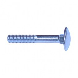 CARRIAGE BOLT (6MM X 40MM)