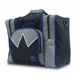 EDGE SINGLE BAG GREY/ROYAL